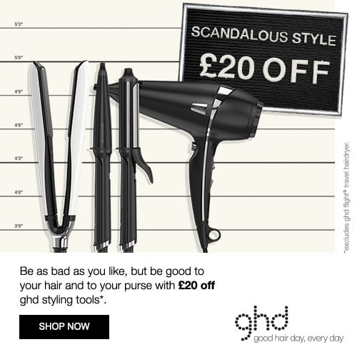 £20 Off ghd - View Offer