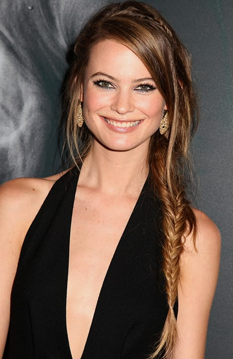 Behati Prinsloo's Fishtail Braid