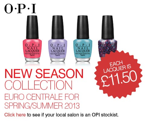OPI New Season Collections