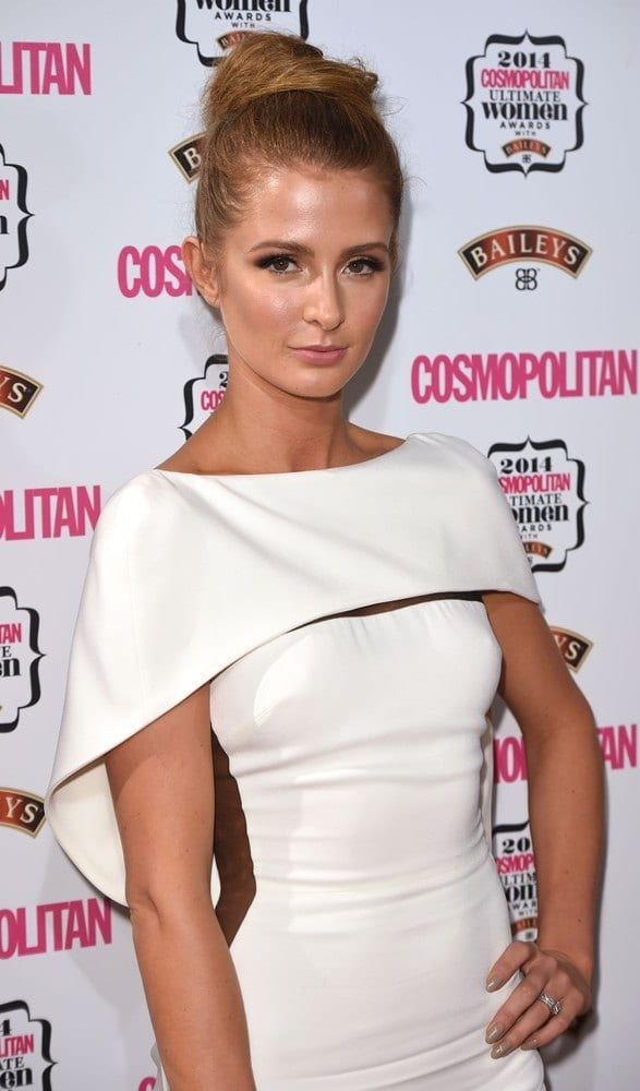 Millie Mackintosh's Top Knot