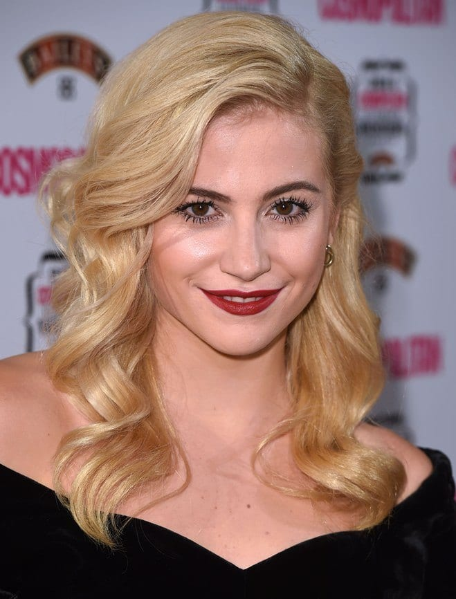 Pixie Lott's Hollywood Waves