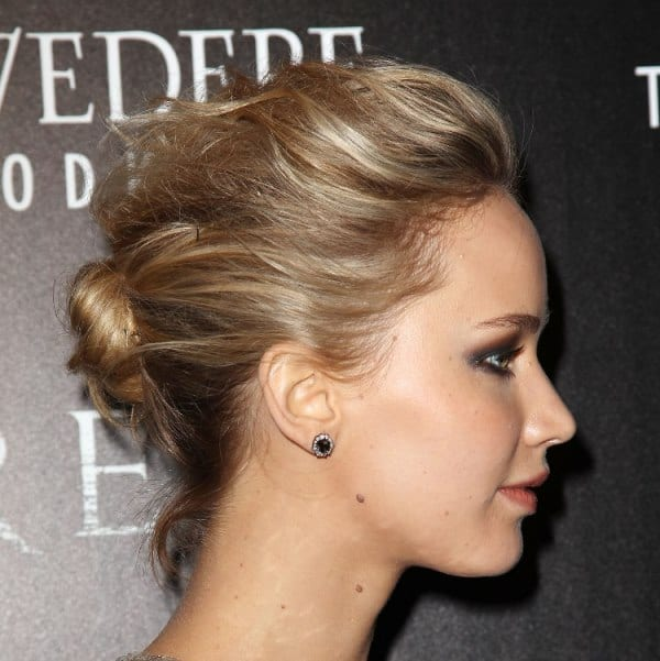 Mandatory Credit: Photo by Startraks Photo/REX_Shutterstock (4577871bk) Jennifer Lawrence Cinema Society 'Serena' film screening, New York, America - 21 Mar 2015 Magnolia Pictures & The Cinema Society with Dior Beauty Host a Screening of 'Serena'