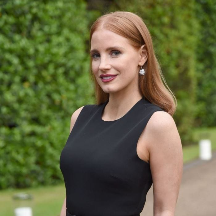 Mandatory Credit: Photo by Richard Young/REX Shutterstock (4857138ar) Jessica Chastain Ralph Lauren Wimbledon cocktail party, London, Britain - 22 Jun 2015