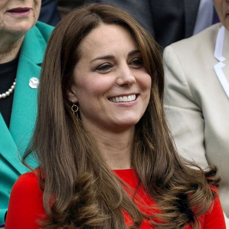 Mandatory Credit: Photo by Ray Tang/REX Shutterstock (4898835ac) Catherine Duchess of Cambridge Wimbledon Tennis Championships, London, Britain - 08 Jul 2015