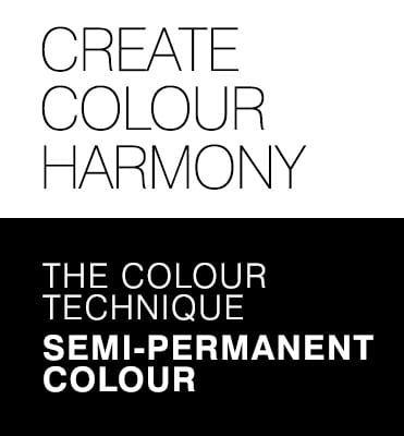Experience stunning colour - The colour technique Semi-permanent colour